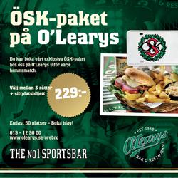 O'Learys Örebro
