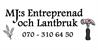 MJ:s Entreprenad & Lantbruk