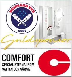 newmans comfort guldsponsor