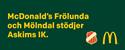 Mc Donalds Frölunda / Mölndal