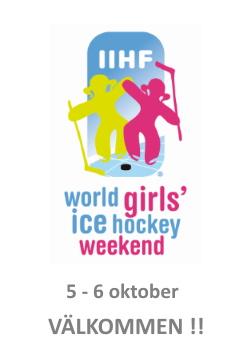 GIRL WORLD ICE HOCKEY WEEKEND