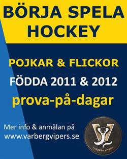 Börja spela hockey D2