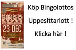 Köp Bingolotter till Uppesittarkvällen