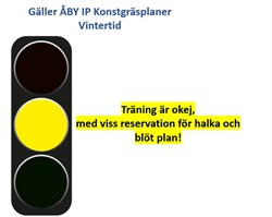 Statusuppdatering för våra Konstgräsplaner GUL blö