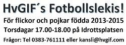 Fotbollslekis